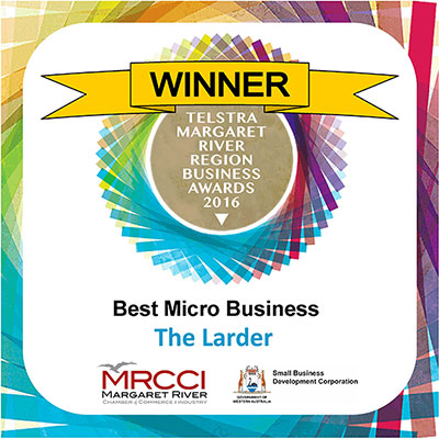 Margaret River - Winner - Best Micro Business 2016